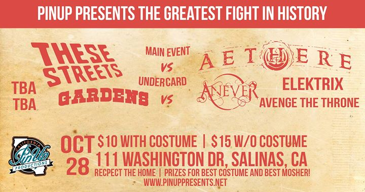 Halloween Havoc w/ These Streets and Aethere at Washington House