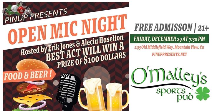 Open Mic Night at O'Malley's